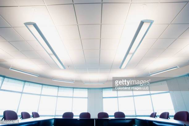 Empty office meeting room