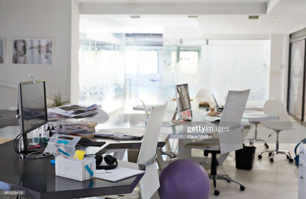 Messy Office Desk Stock Photos and Pictures Getty Images