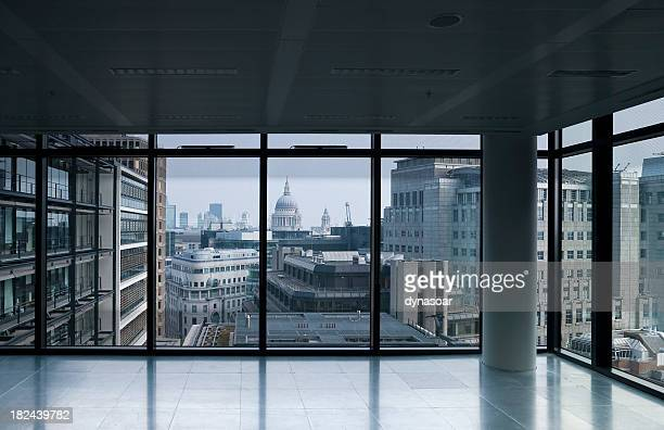 Empty office, overlooking St Paul's, London