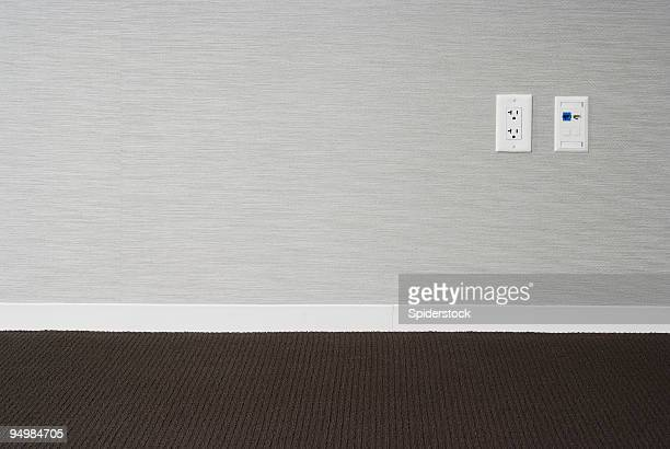 empty office - wainscoting stock photos and pictures