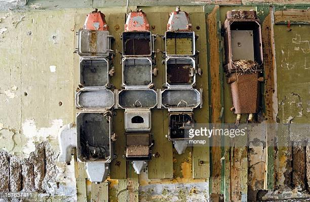 Empty old Power Supply Boxes