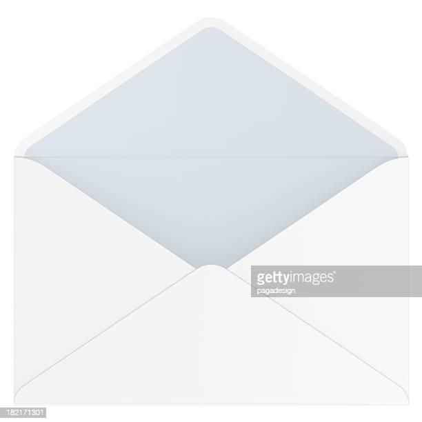 empty open envelope