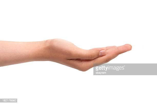 Vazio mão aberta