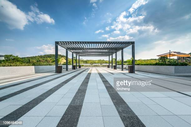 empty parking lot - purity stock pictures, royalty-free photos & images