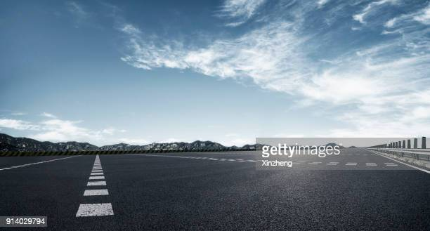 empty parking lot - airport runway stock pictures, royalty-free photos & images