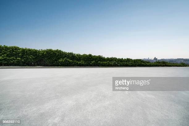 empty parking lot - observation point stock pictures, royalty-free photos & images