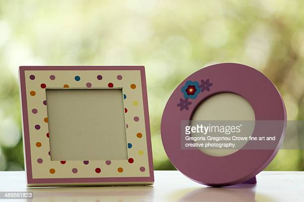 empty photo frames - gregoria gregoriou crowe fine art and creative photography. stock pictures, royalty-free photos & images