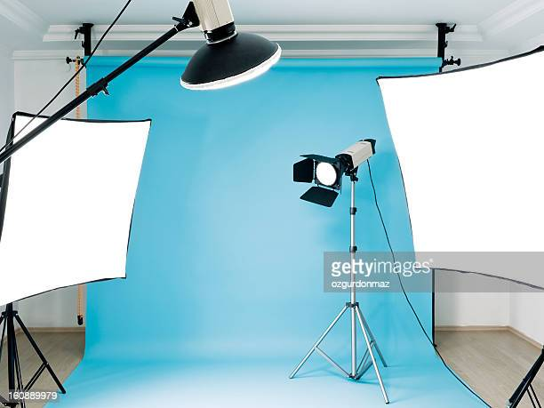 empty photographic studio - photography themes stock pictures, royalty-free photos & images