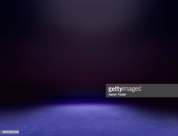 empty photography studio. - purple background stock photos and pictures