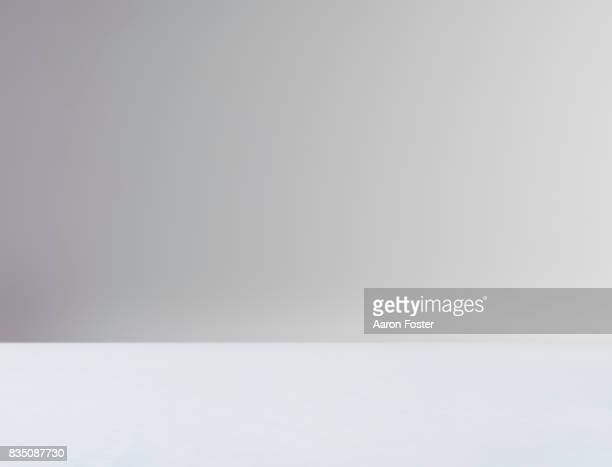 empty photography studio. - gray background stock pictures, royalty-free photos & images