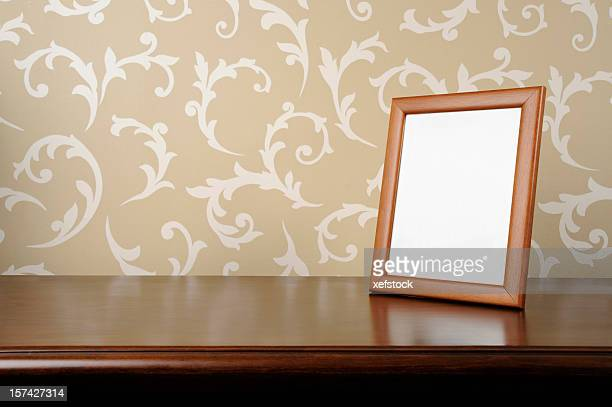 empty picture frame - photo frame stock pictures, royalty-free photos & images