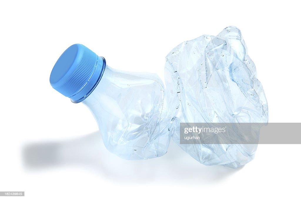 Empty plastic bottle : Stock Photo