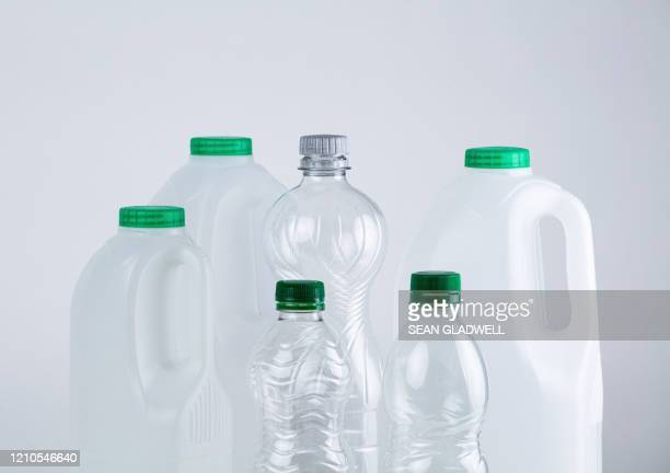 empty plastic bottles - packaging stock pictures, royalty-free photos & images