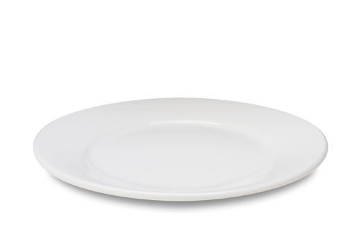 Empty plate on white 184276935
