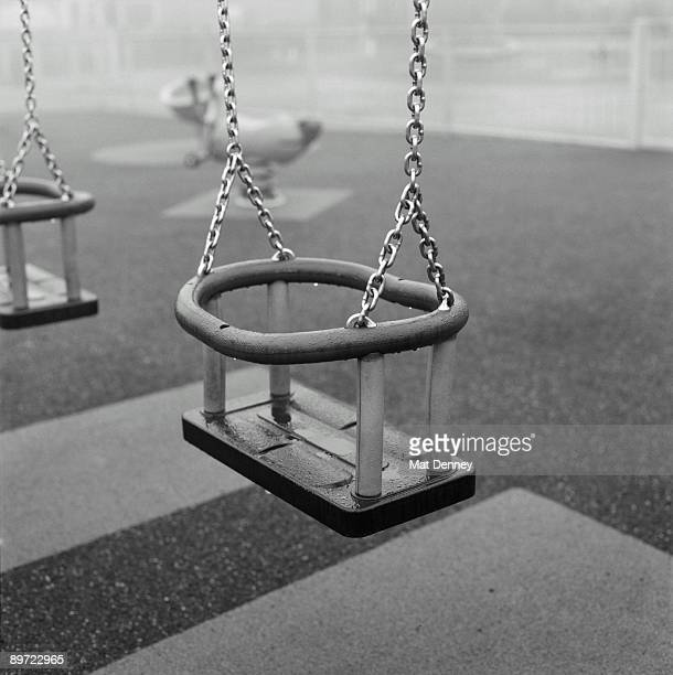 Empty Playground - Swing