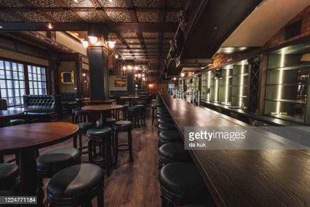 empty pub interior - general view stock pictures, royalty-free photos & images