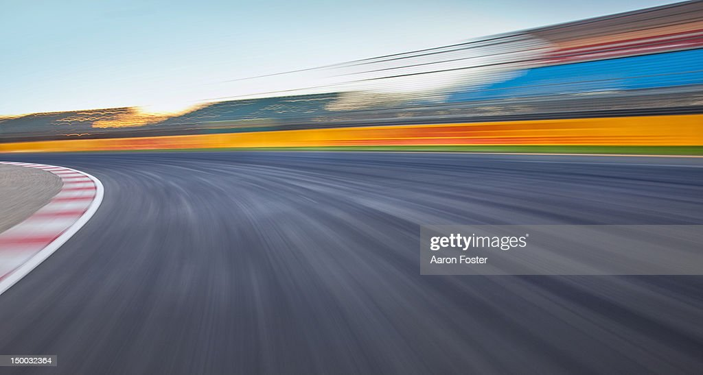 empty race track background stock photo getty images
