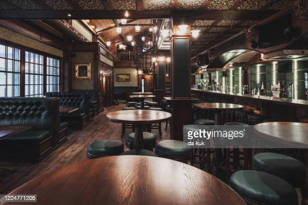 empty restaurant interior - general view stock pictures, royalty-free photos & images