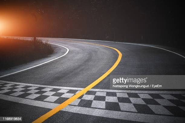 empty road against sky - sports race stock pictures, royalty-free photos & images