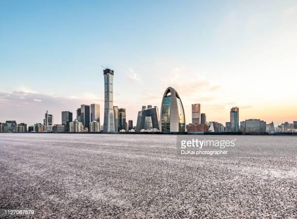 Empty Road in beijing