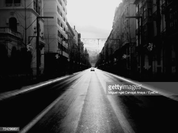 empty road in city - carvajal stock photos and pictures