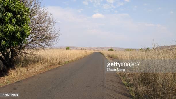 Empty Road in Madagascar