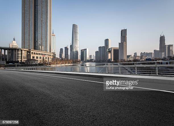 Empty Road in tianjin