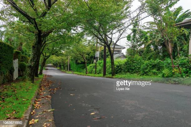 empty road - paved driveway stock pictures, royalty-free photos & images
