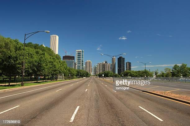 空の road - 散歩道 ストックフォトと画像