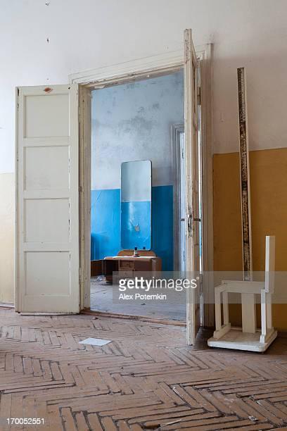 Camera vuota in obsoleto centro di assistenza medica