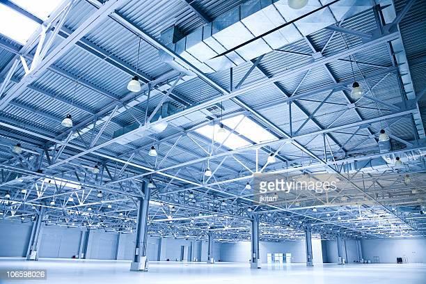 empty room of modern  storehouse