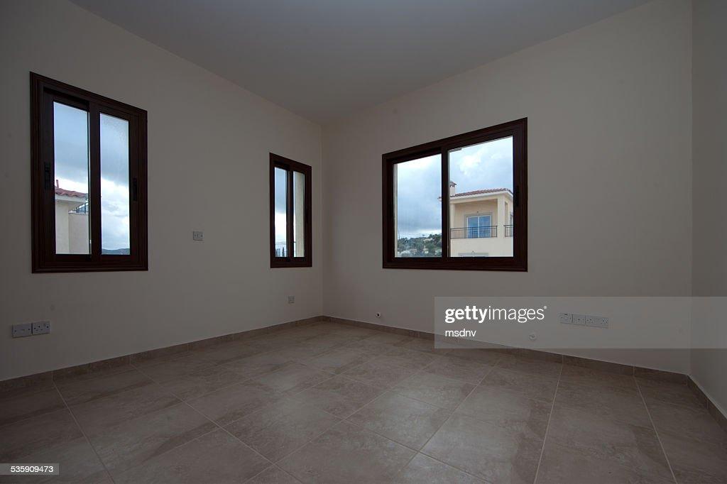 Habitación vacía : Foto de stock