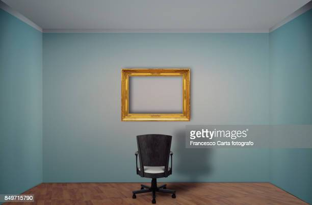 empty room - office chair stock pictures, royalty-free photos & images