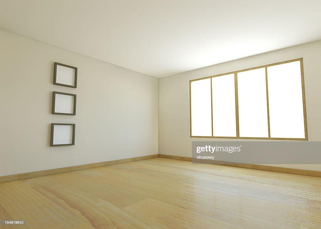 empty room presentation : Stock Photo