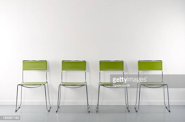 Empty Room WIth 4 Chairs