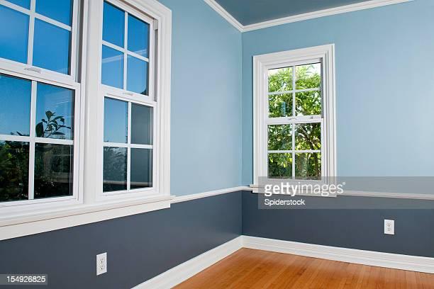 Leeren Raum mit Fenster