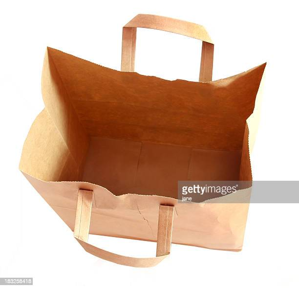 空の袋 - 内部 ストックフォトと画像