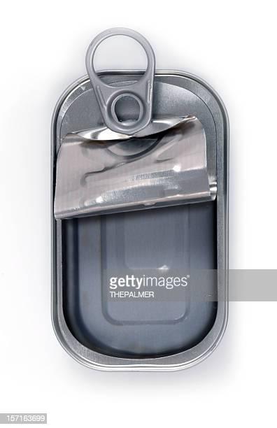 empty sardine can