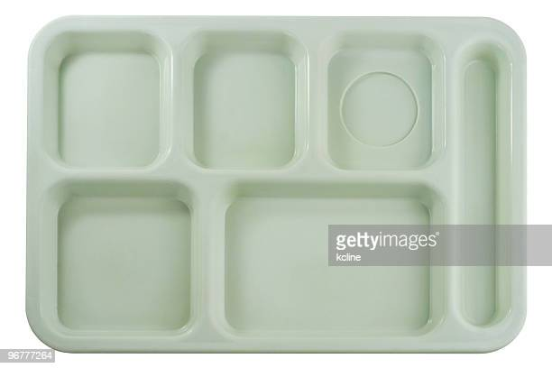 Empty School Lunch Tray