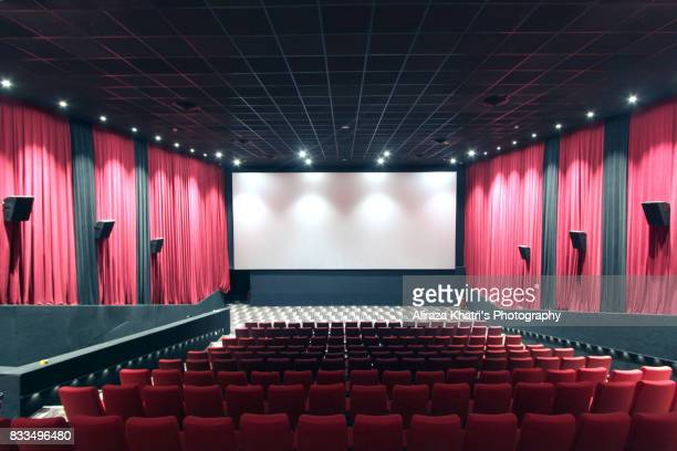 Empty Screening Theater