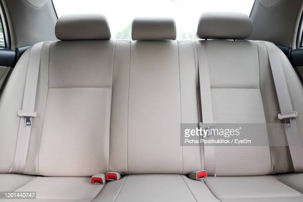 empty seat in car - car interior stock pictures, royalty-free photos & images