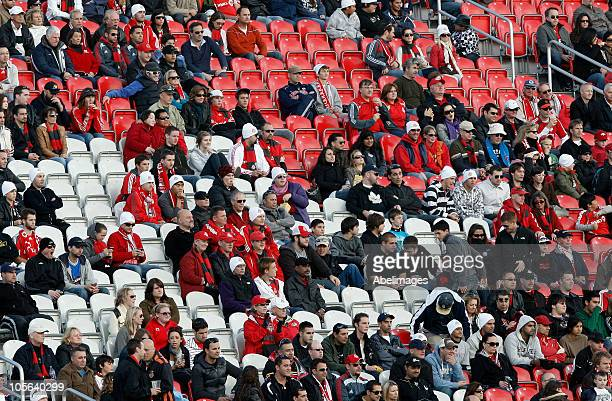 Empty seats a rare sight as fans protest Maple Leaf Sports and Entertainment's decision of raising ticket prices despite the team once again missing...