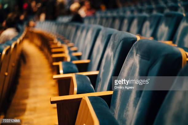 empty seats in theater - empty bleachers stock photos and pictures