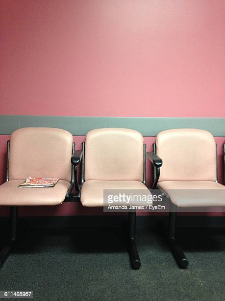 Empty Seats In Waiting Room