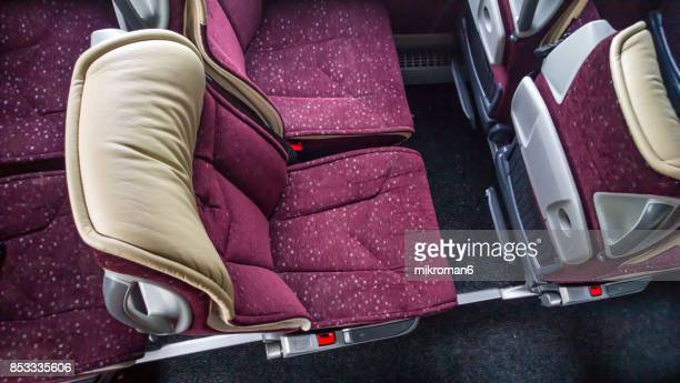Empty Seats Of Bus