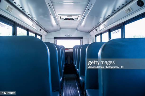 Empty seats on school bus