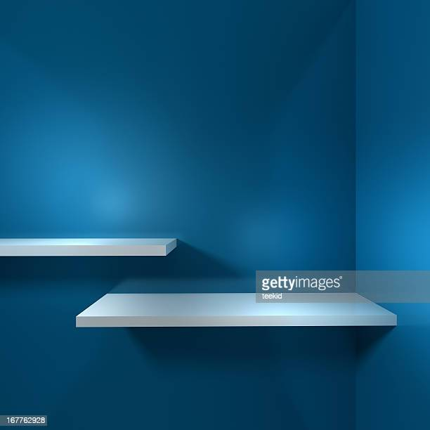 empty shelf - fully unbuttoned stock pictures, royalty-free photos & images