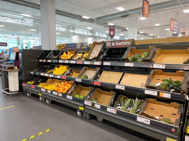 GBR: Supermarkets Amid U.K. Shortage Fears