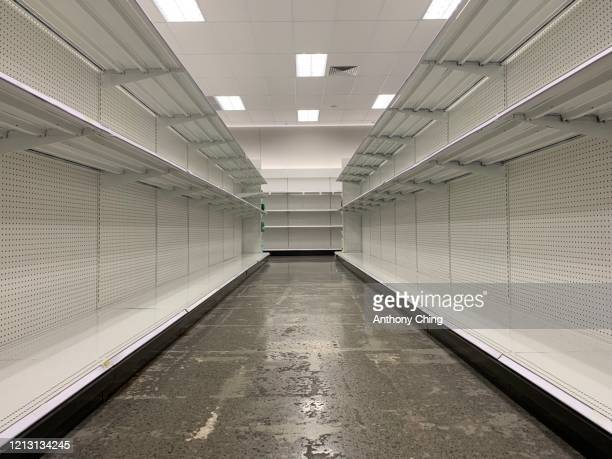empty shelves - sparse stock pictures, royalty-free photos & images