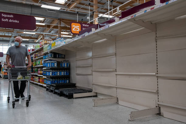 GBR: Brits Experience Food Shortages And Rising Energy Prices